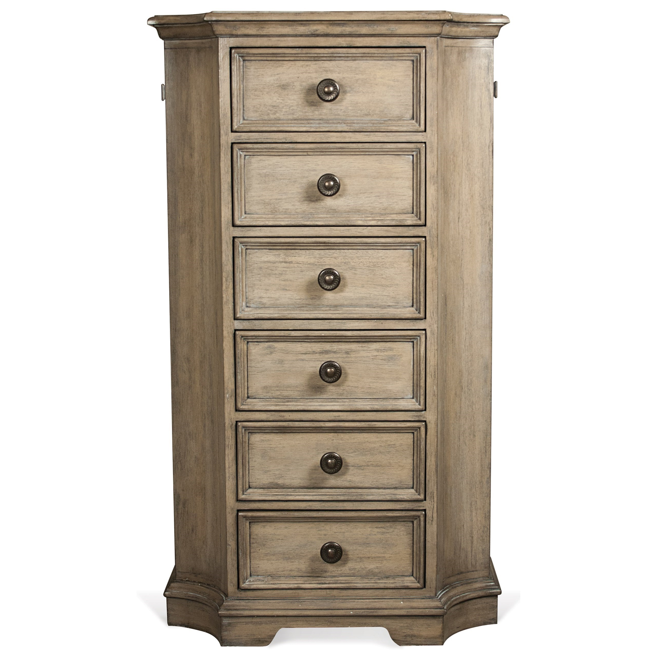 Riverside Furniture Corinne 6 Drawer Lingerie Chest