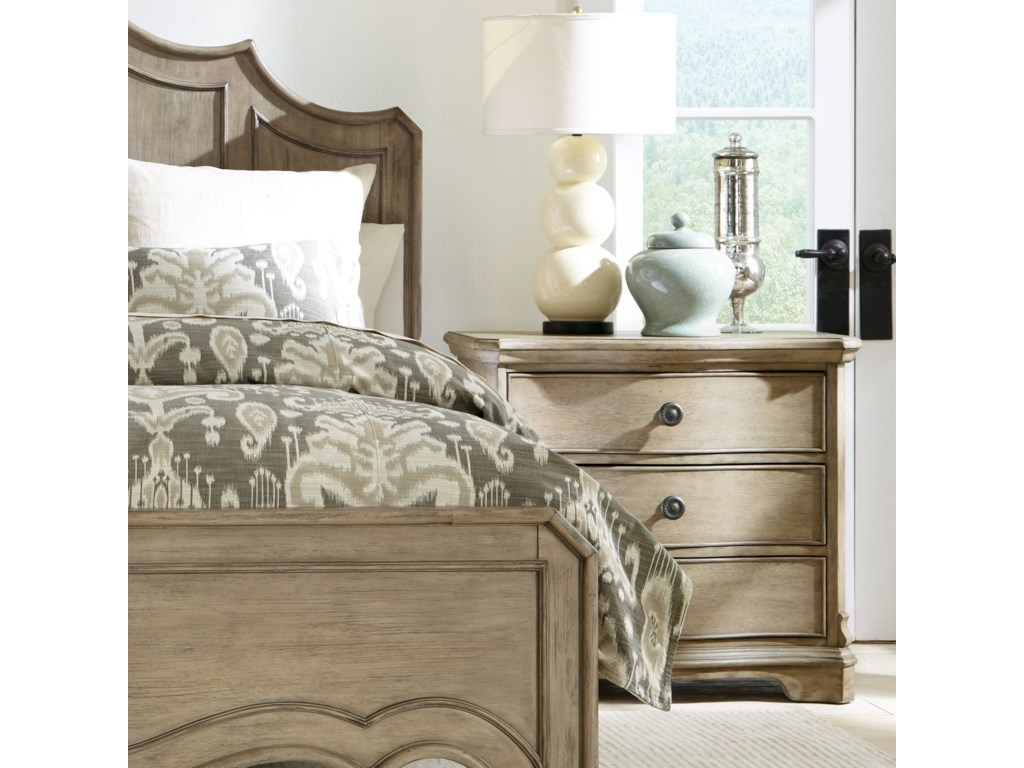 Riverside Furniture Corinne3 Drawer Nightstand