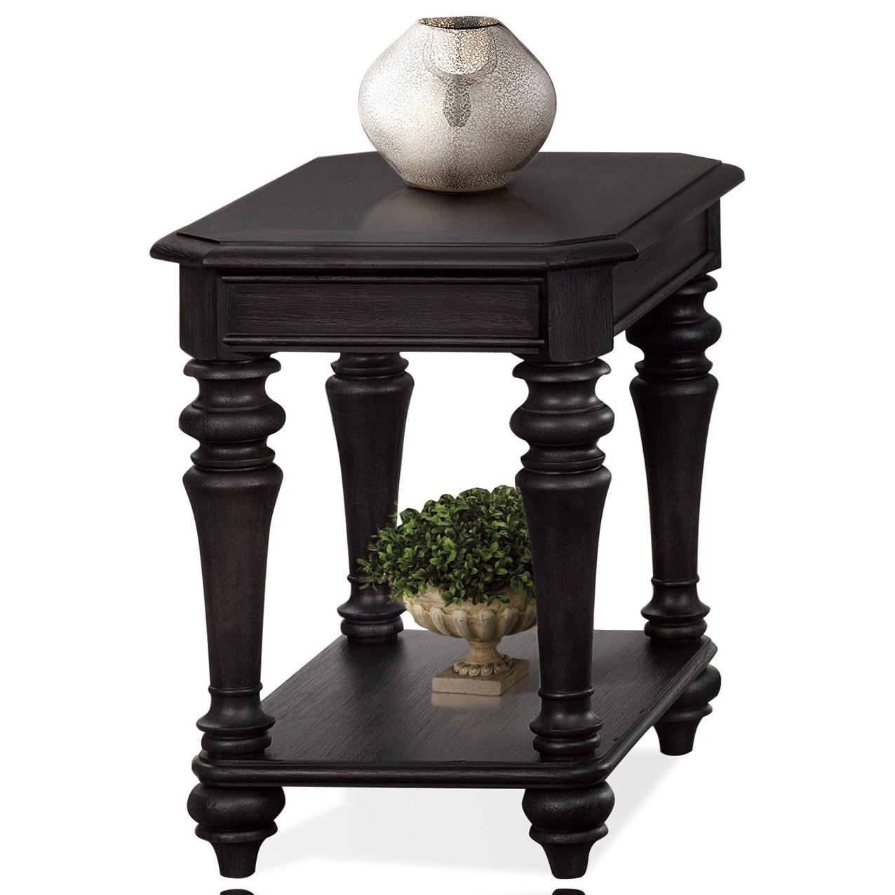 Riverside Furniture CorinneChairside Table ...