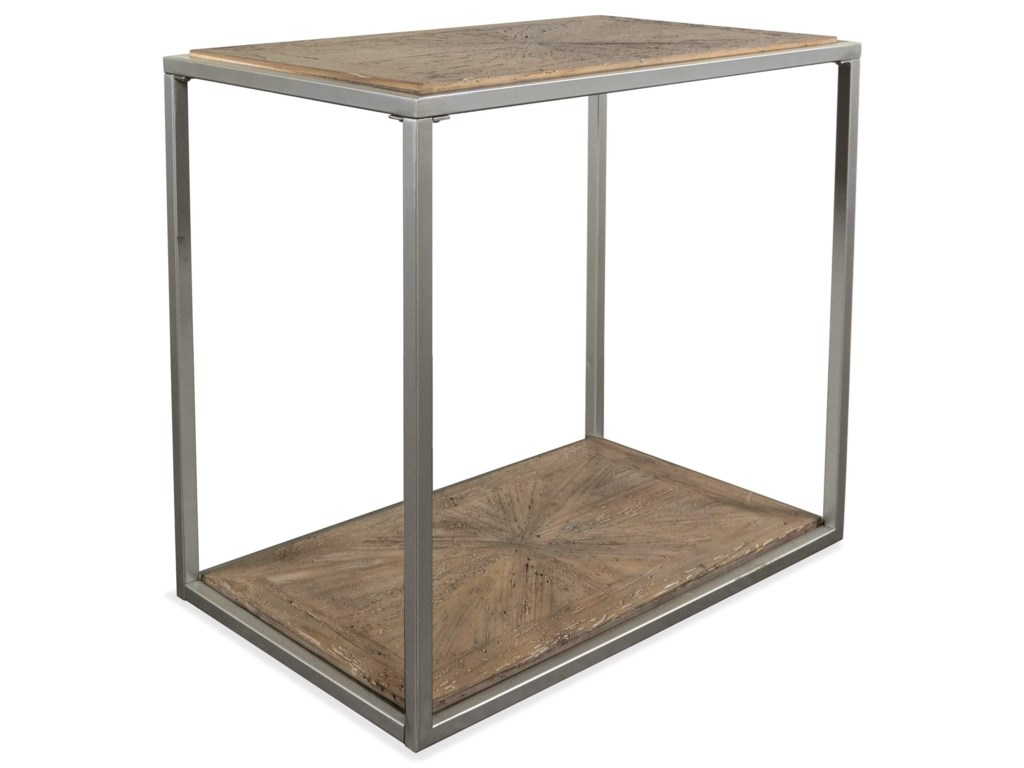 Riverside Furniture CoronadoRectangle Chairside Table