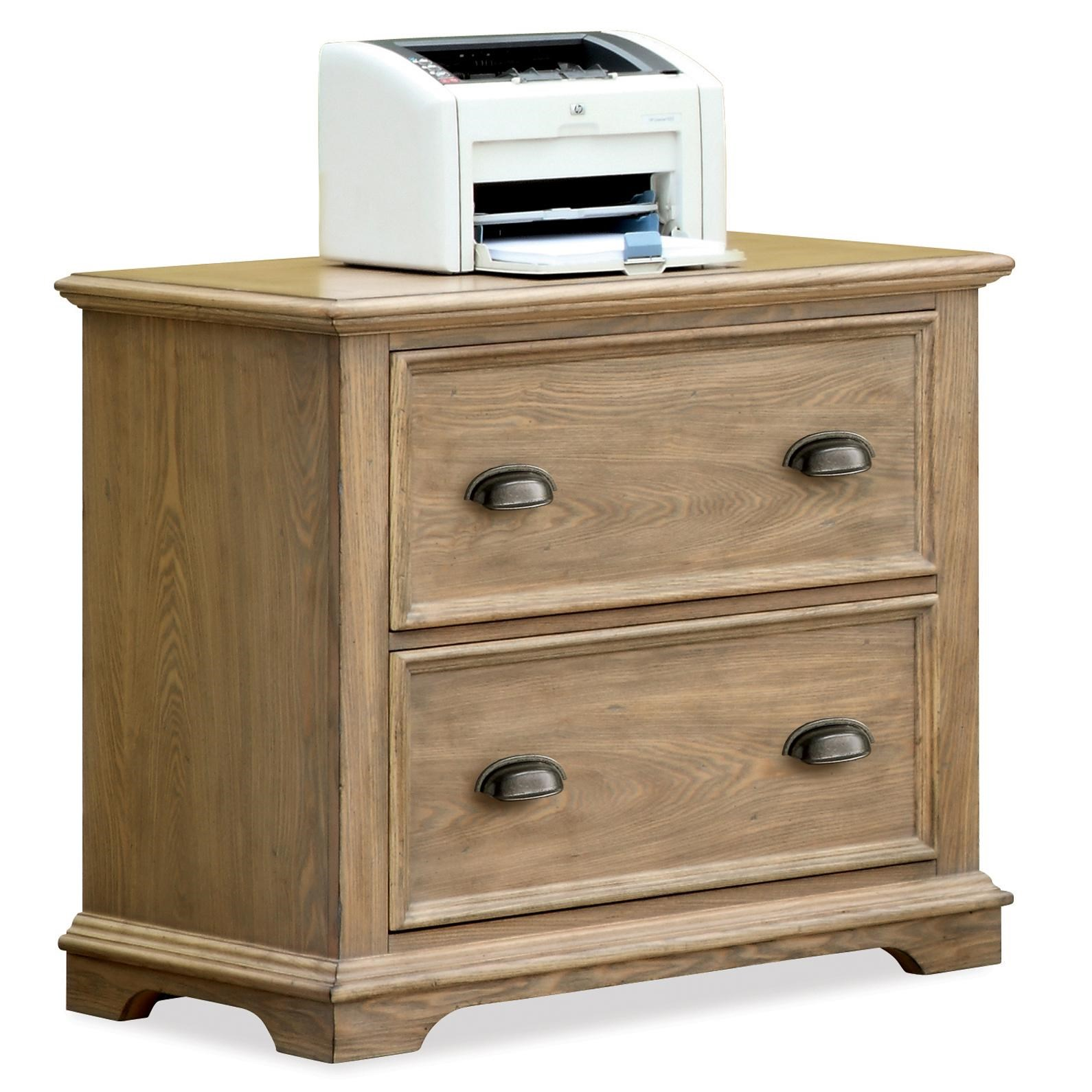 Wood Lateral File Cabinets riverside furniture coventry lateral file cabinet with 2 drawers