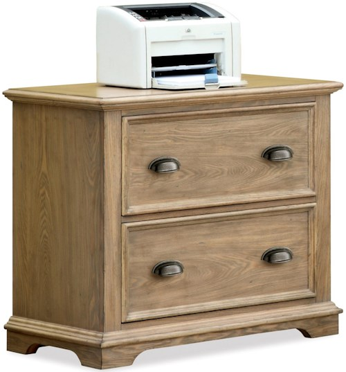 Riverside Furniture Coventry Lateral File Cabinet with 2 Drawers