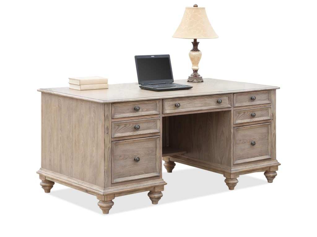 Riverside Furniture Coventry Executive Desk With 7 Drawers