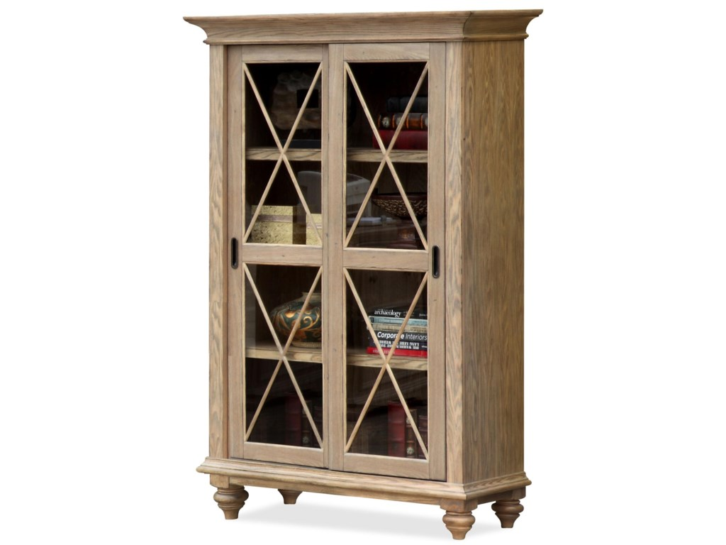 Riverside Furniture CoventrySliding Door Bookcase