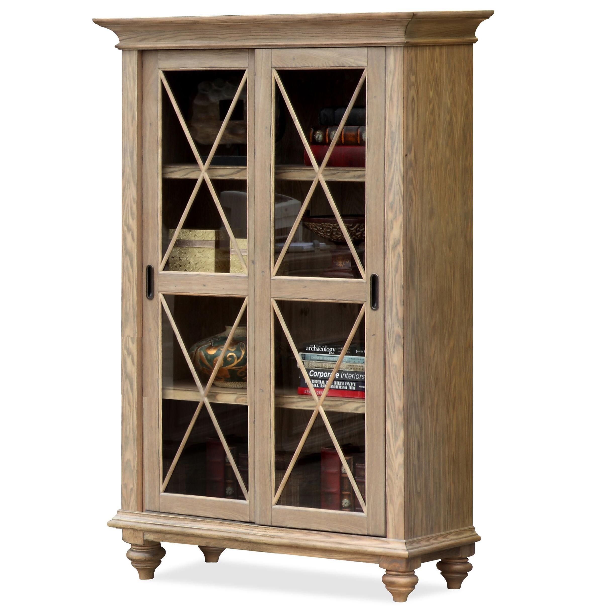 Riverside Furniture CoventrySliding Door Bookcase ...