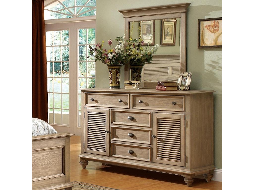 Shown with Coordinating Dresser in Bedroom