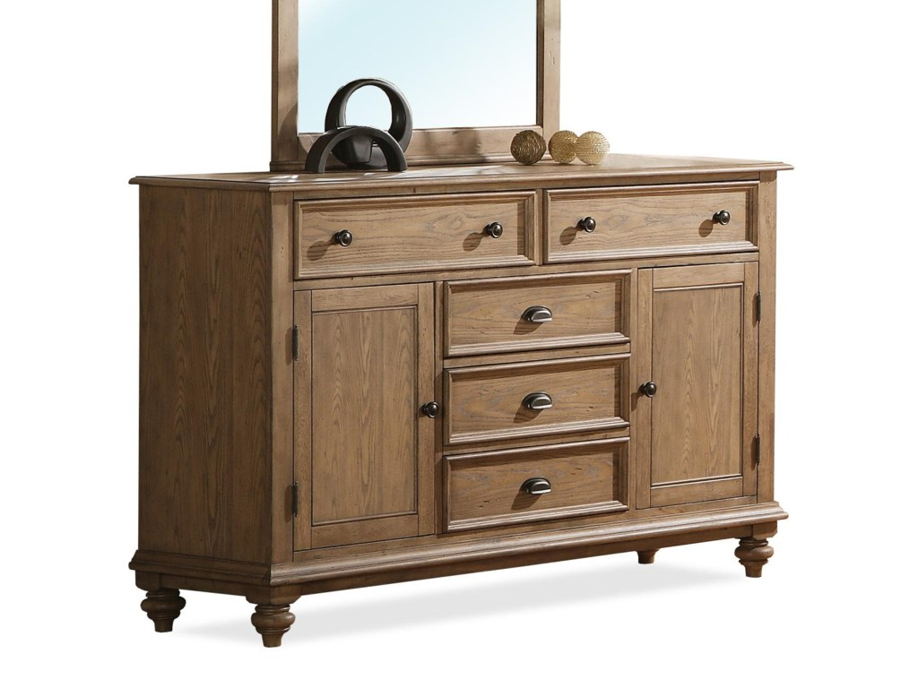Riverside Furniture CoventryPanel Door Dresser
