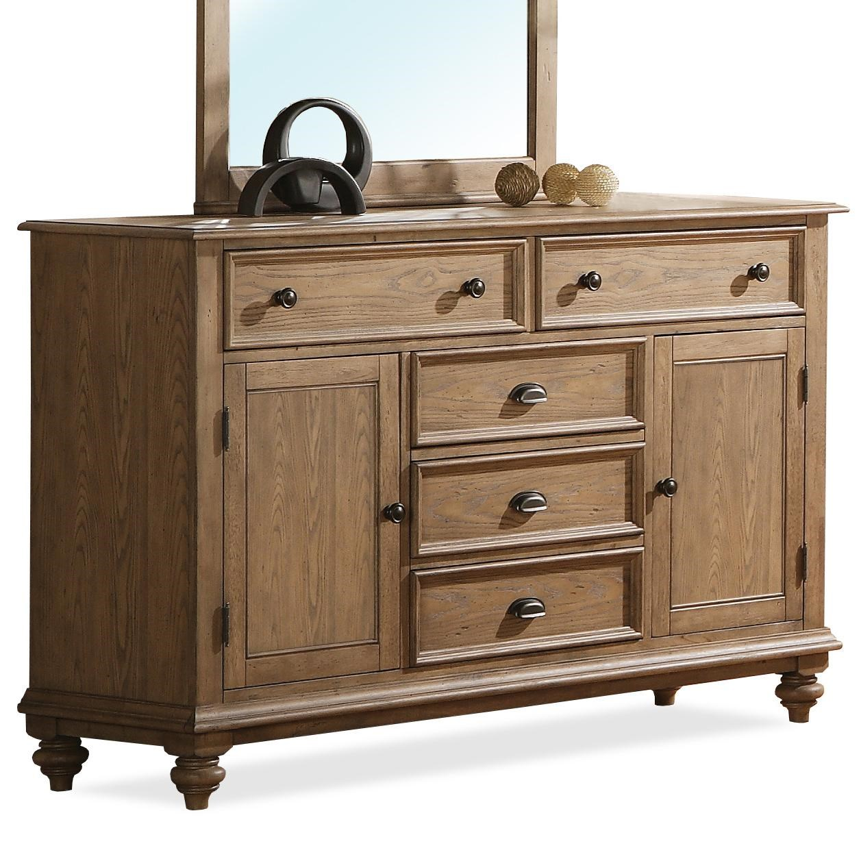 Captivating Riverside Furniture CoventryPanel Door Dresser ...