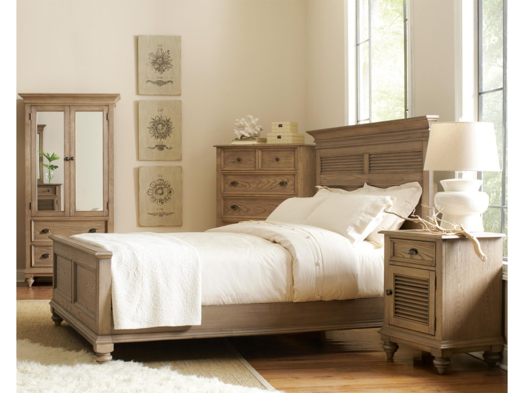 Shown with Armoire, Panel Bed & Night Stand