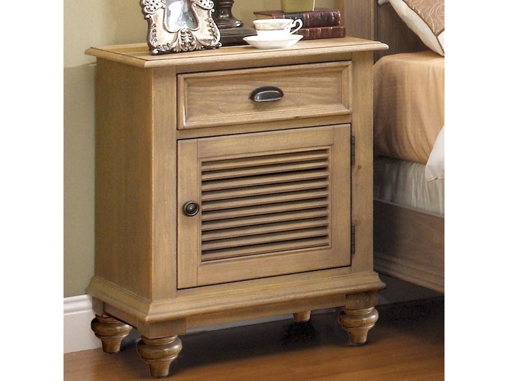 Riverside Furniture CoventryShutter Door Nightstand
