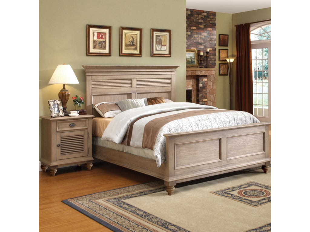 Shown with Night Stand in Bedroom.