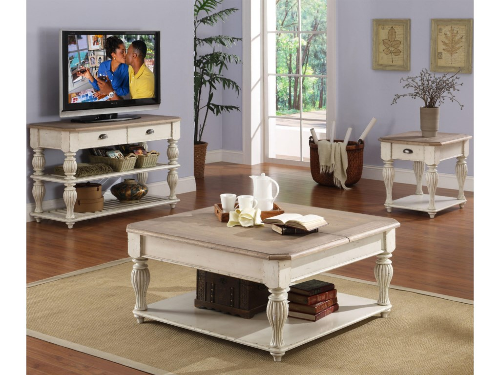 Shown with Console Table & Coffee Table