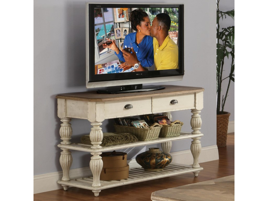 Riverside Furniture Coventry Two ToneConsole Table