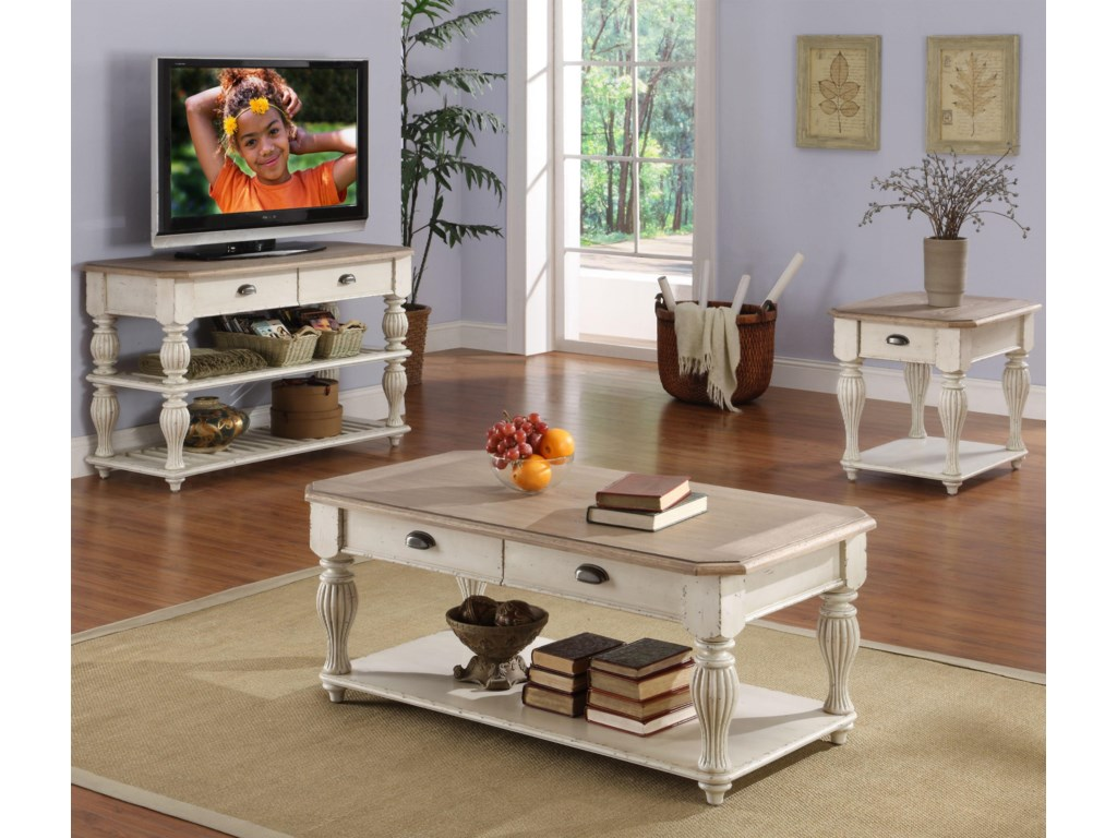 Shown with Coffee Table & End Table