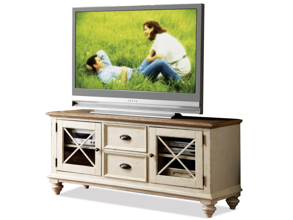 Riverside Furniture Coventry Two ToneTV Console