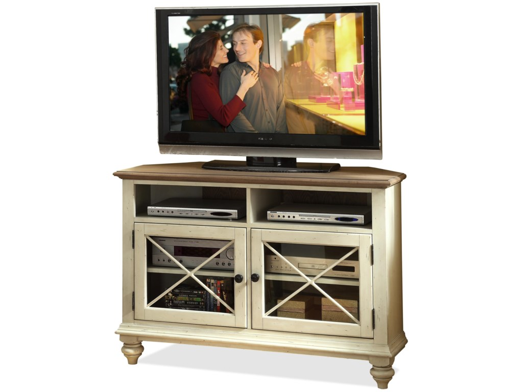 Riverside Furniture Coventry Two ToneCorner TV Console
