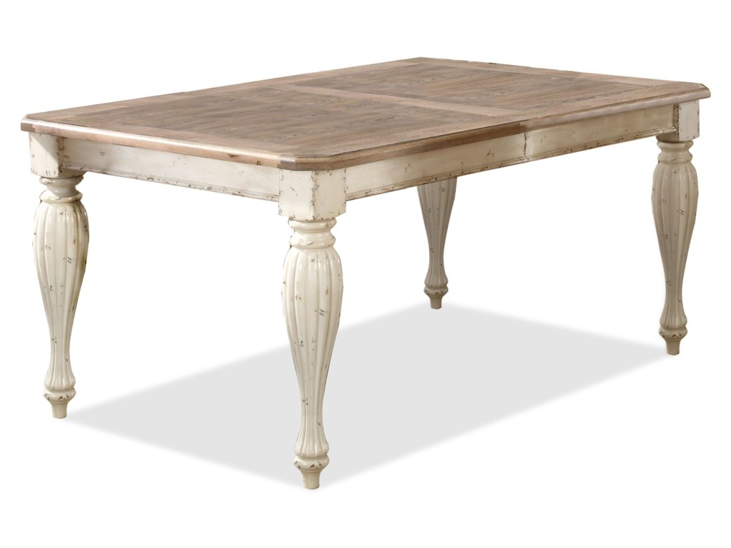 Riverside Furniture Coventry Two ToneRectangular Dining Table