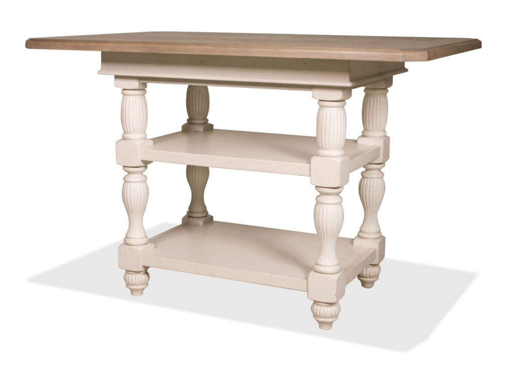 Riverside Furniture Coventry Two ToneCounter Height Dining Table