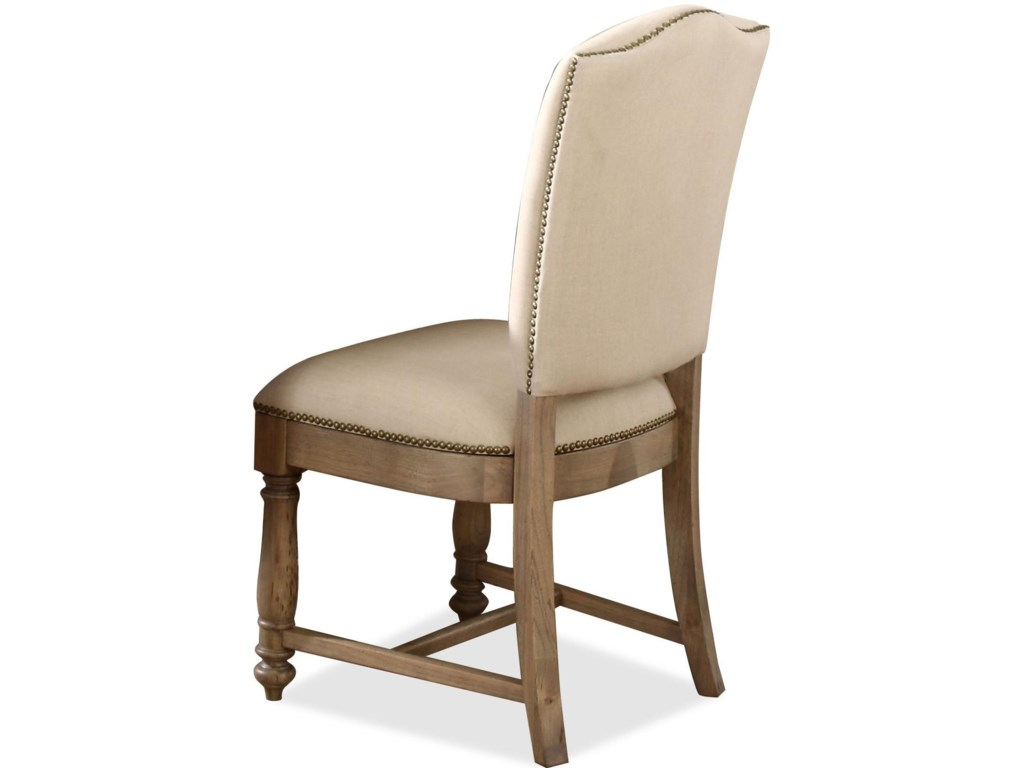 Riverside Furniture Coventry Two ToneUpholstered Side Chair