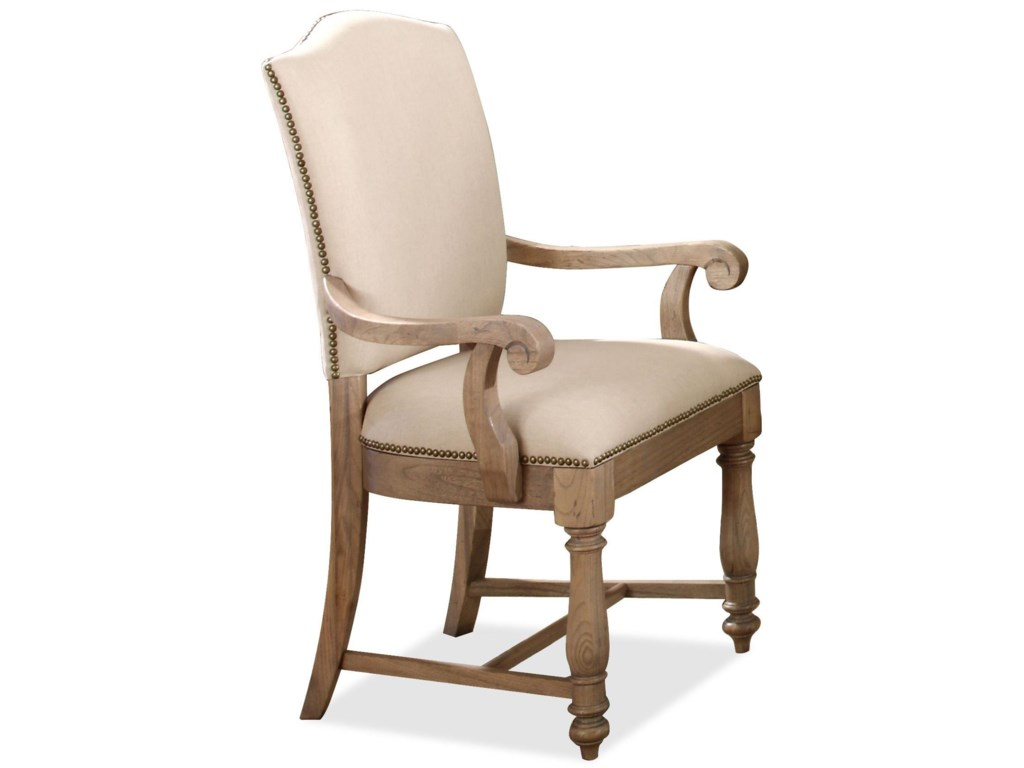 Riverside Furniture Coventry Two ToneUpholstered Arm Chair