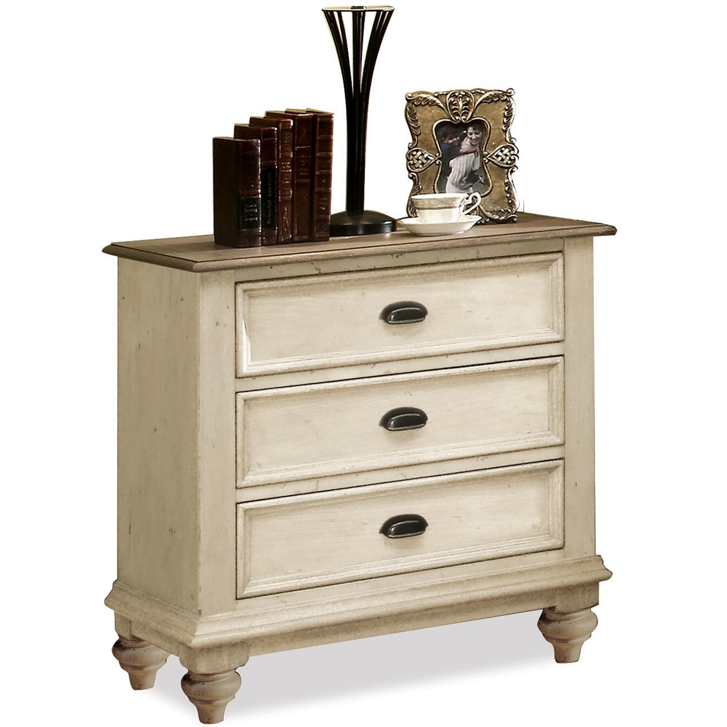 Riverside Furniture Coventry Two Tone3 Drawer Night Stand ...