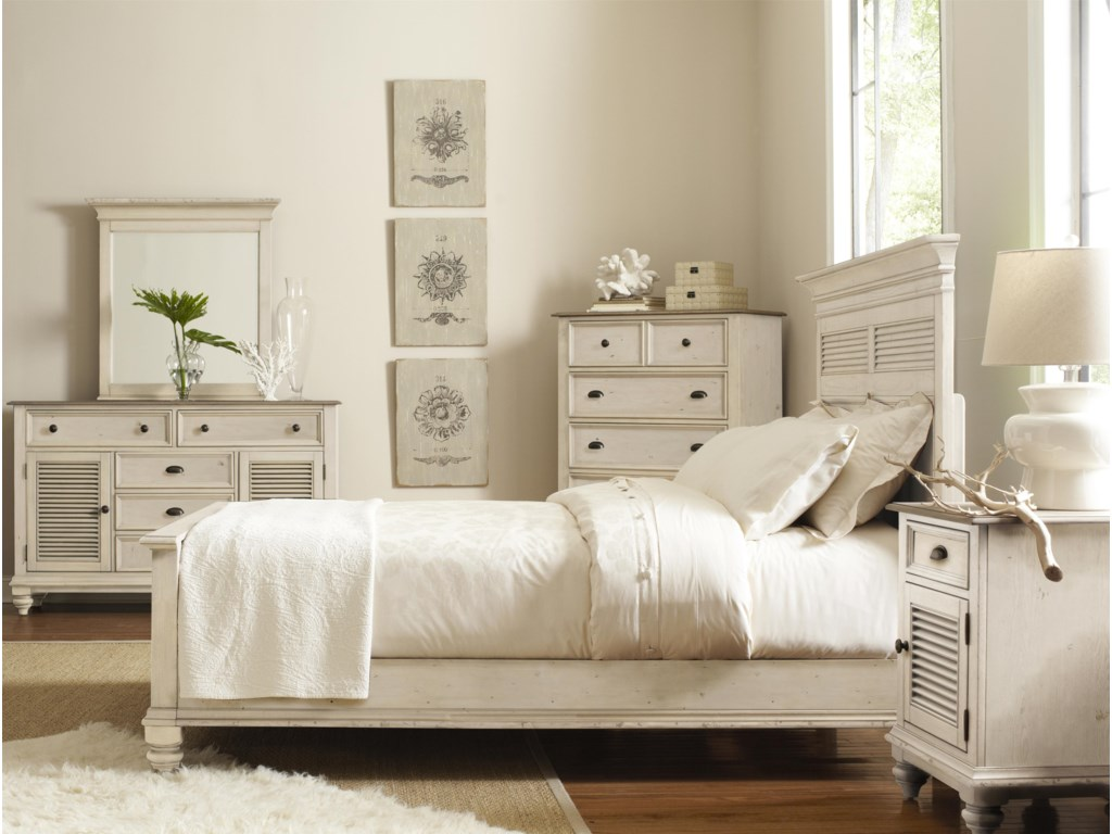 Shown with Dresser, Mirror & Panel Bed