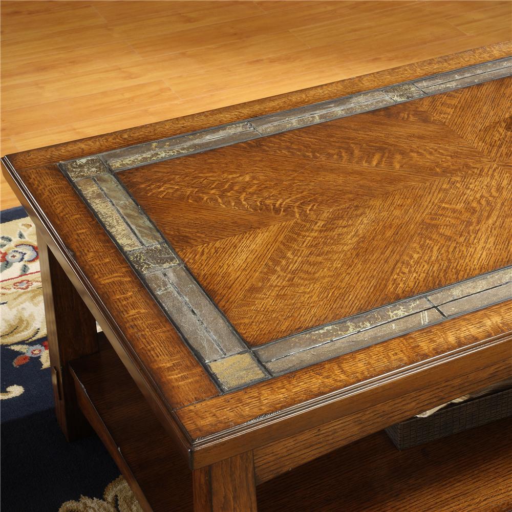 Craftsman home furniture 1910s Riverside Furniture Craftsman Homerectangular Coffee Table Hudsons Furniture Riverside Furniture Craftsman Home 2902 Rectangular Coffee Table