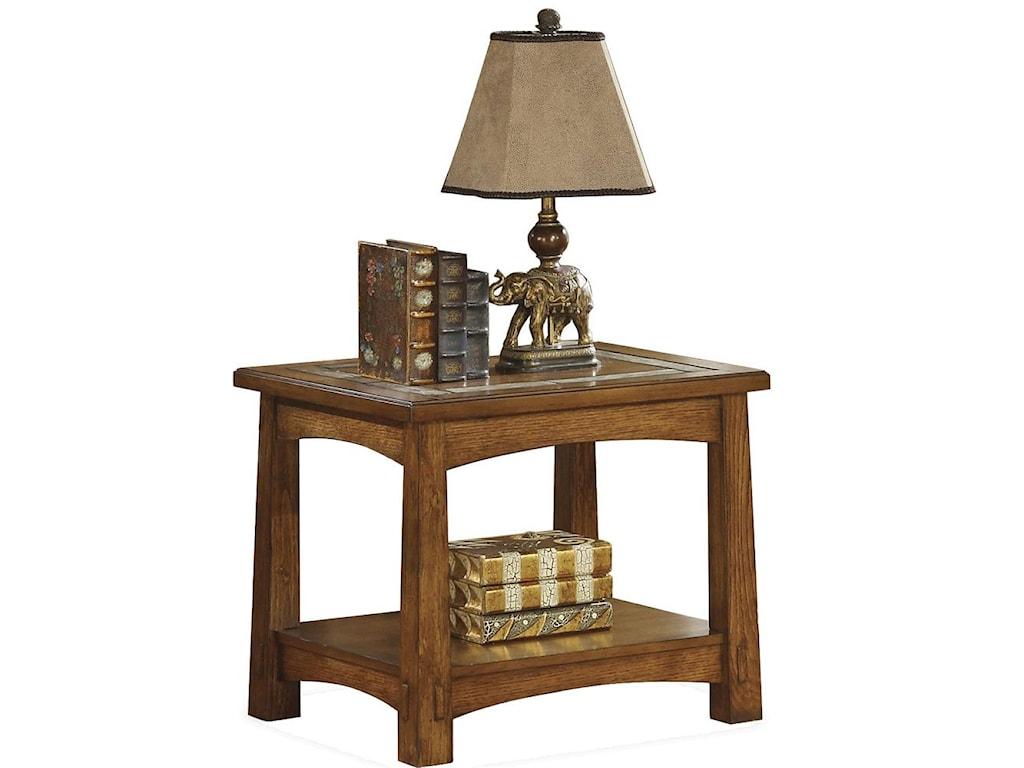 Riverside Furniture Craftsman HomeSide Table