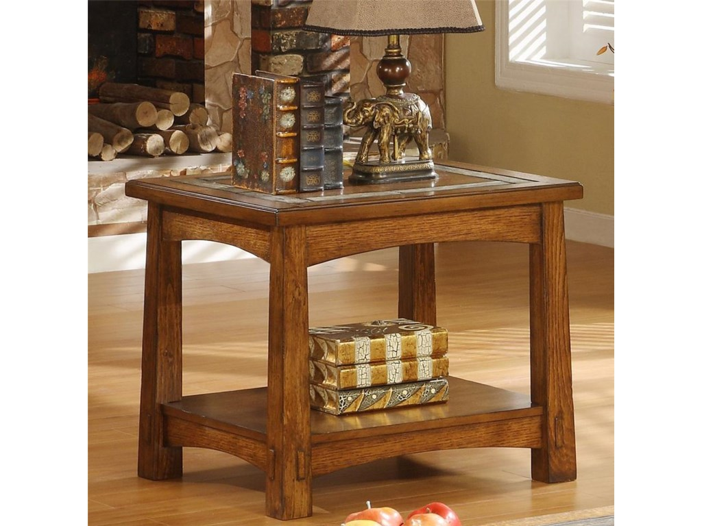 Riverside Furniture Craftsman HomeSide Table