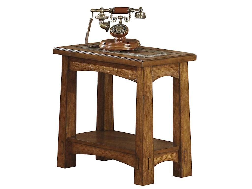 Riverside Furniture Craftsman HomeChairside Table