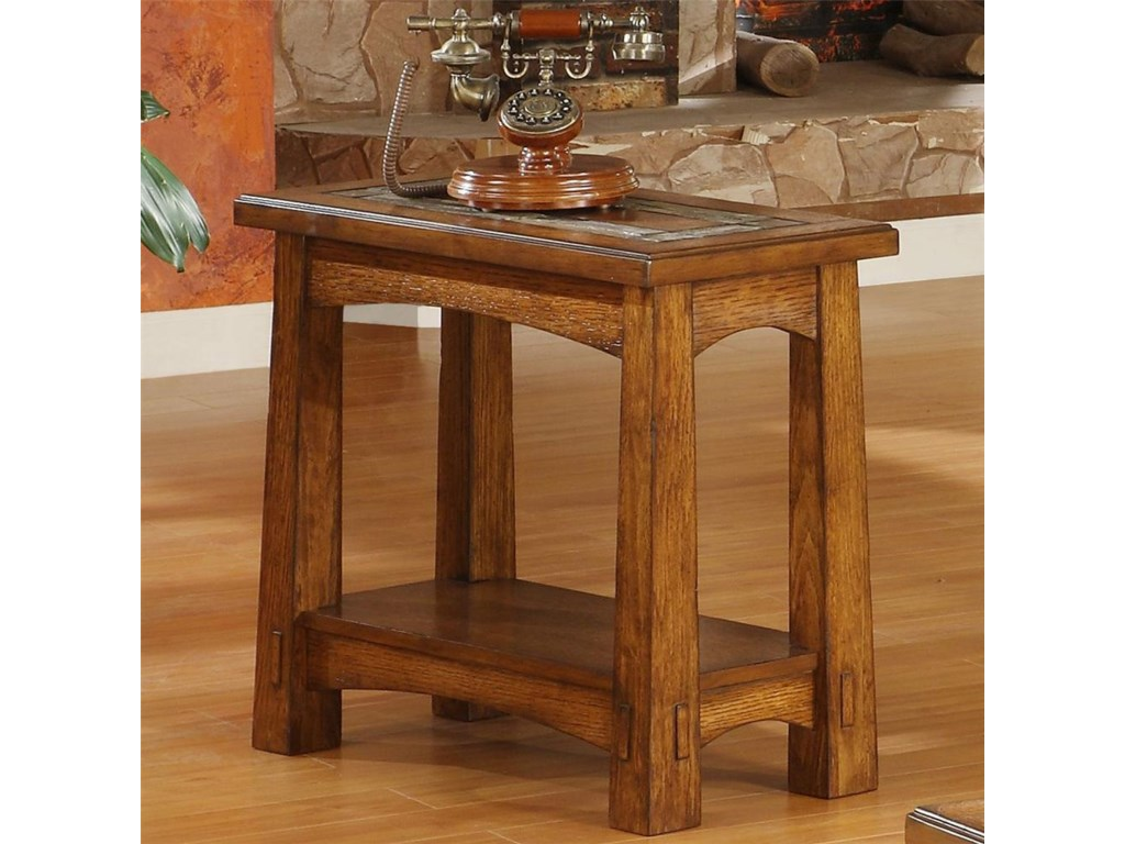 Riverside Furniture Craftsman HomeChairside Table