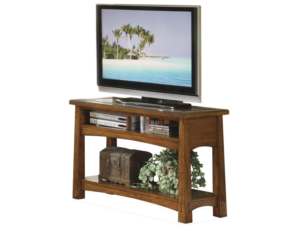 Riverside Furniture Craftsman HomeConsole Table