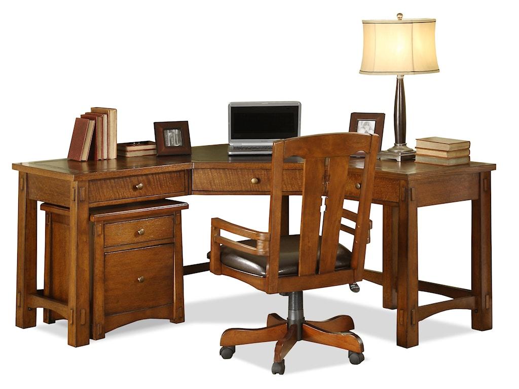 Riverside Furniture Craftsman HomeCorner Desk