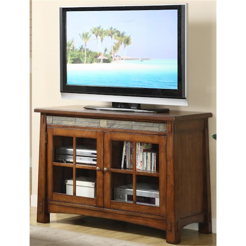 Riverside Furniture Craftsman Home 45 Inch TV Console