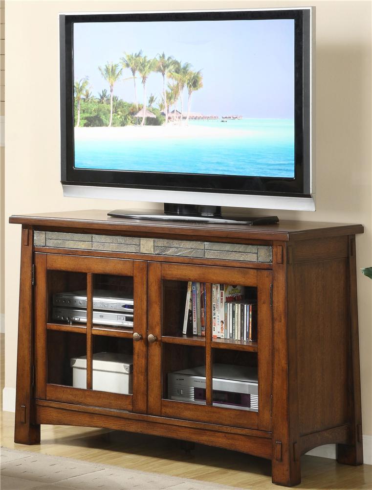 Riverside Furniture Craftsman HomeTV Console ...
