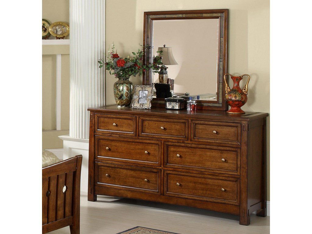 Shown with Coordinating Mirror in Room Setting