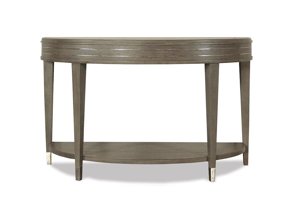 Riverside Furniture Dara IIDemilune Sofa Table