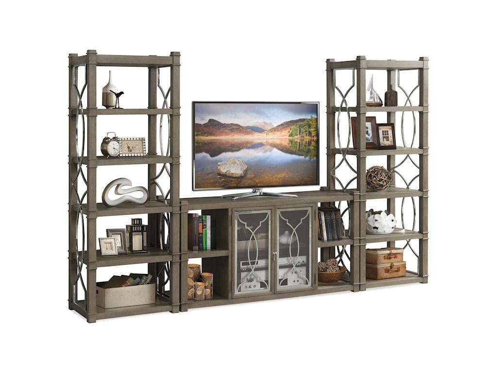 Riverside Furniture Dara IIEntertainment Wall Unit