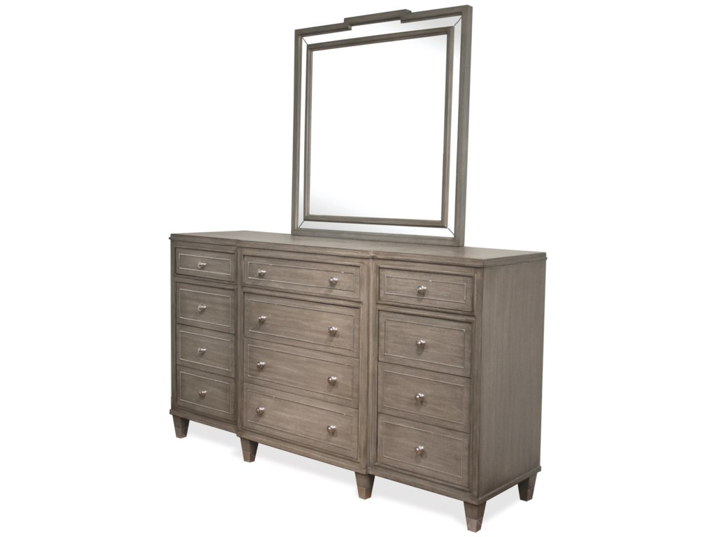 Riverside Furniture Dara IIDresser and Mirror Combo