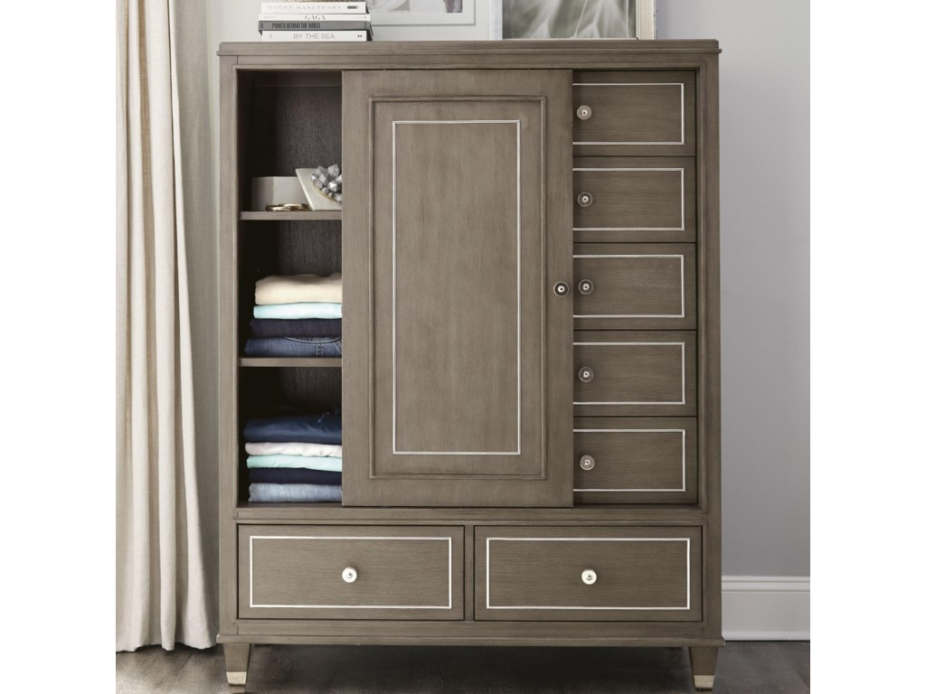 Riverside Furniture Dara IISliding Door Chest