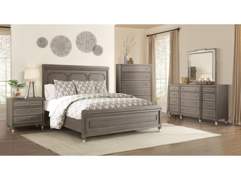 Riverside Furniture Dara IIKing Panel Bed