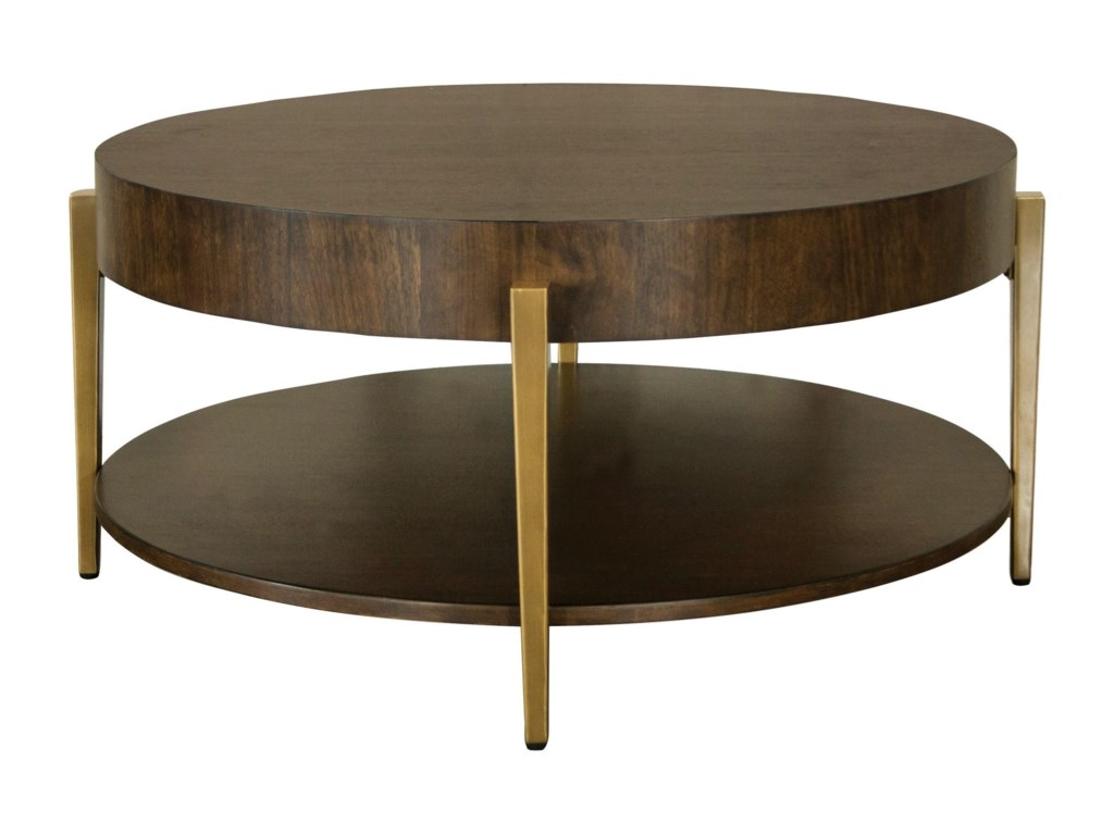 Riverside Furniture DekkerRound Cocktail Table