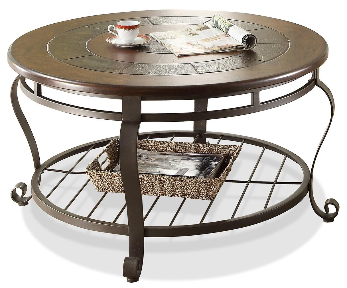 Riverside Furniture EastviewRound Coffee Table ...