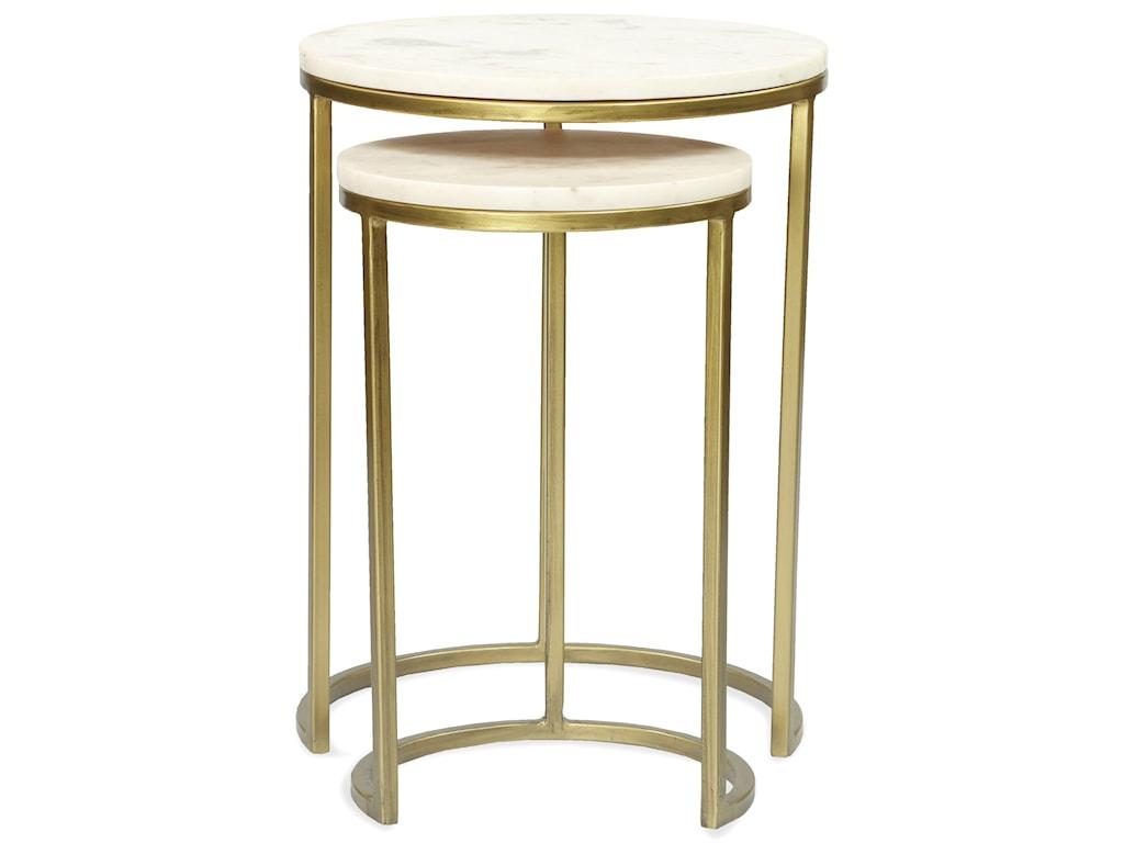 Riverside Furniture EdithNesting Side Tables