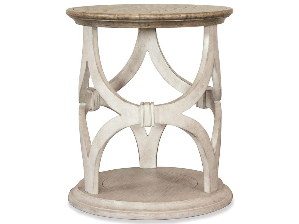 Riverside Furniture ElizabethRound Side Table