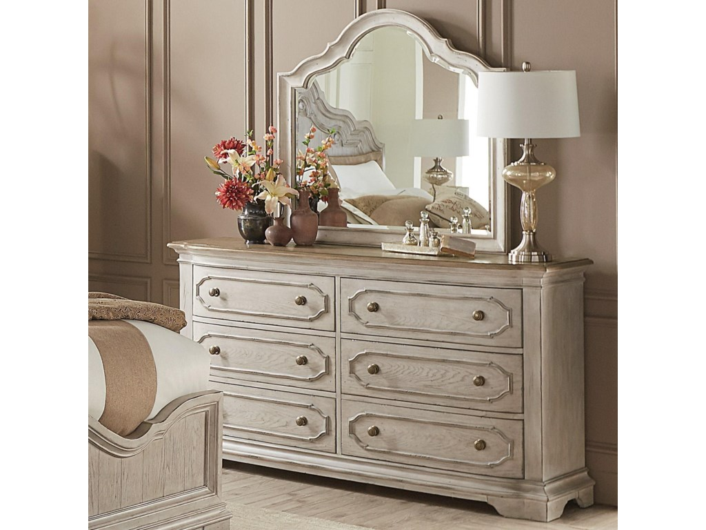 Riverside Furniture Elizabeth6-Drawer Dresser