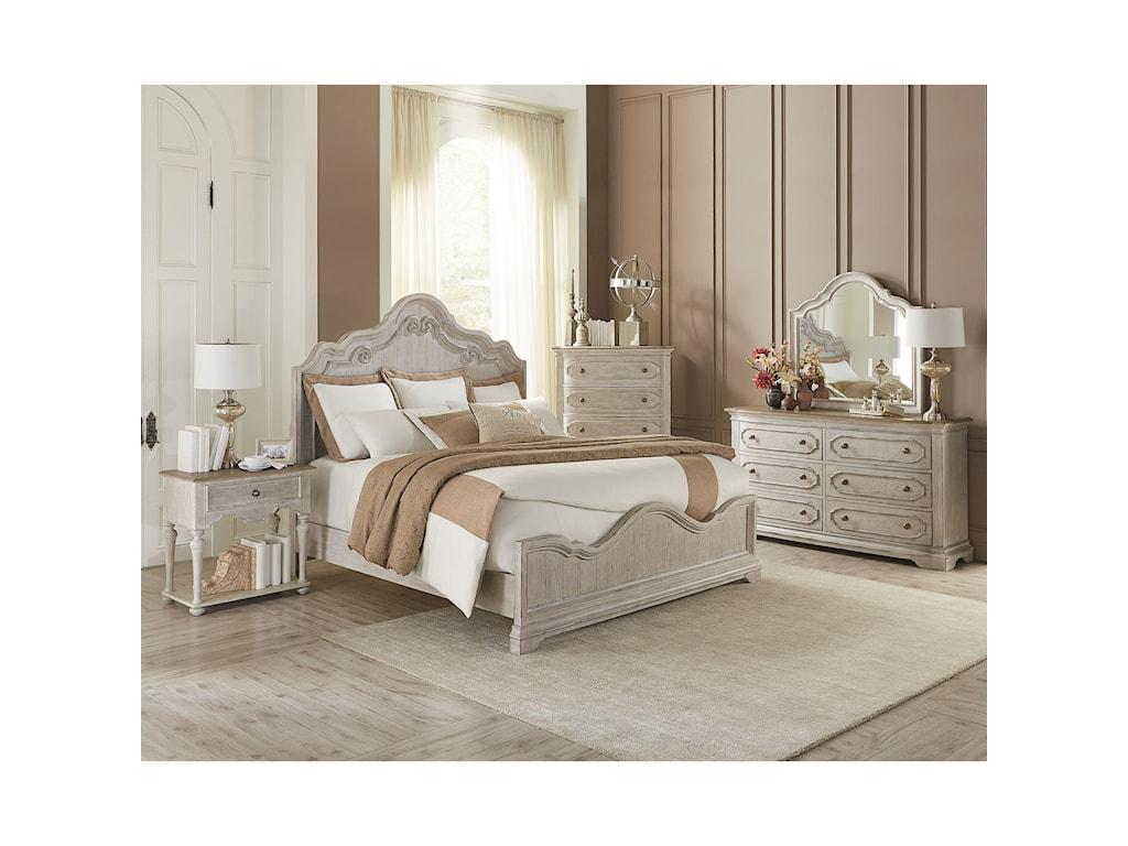 Riverside Furniture ElizabethQueen Bedroom Group