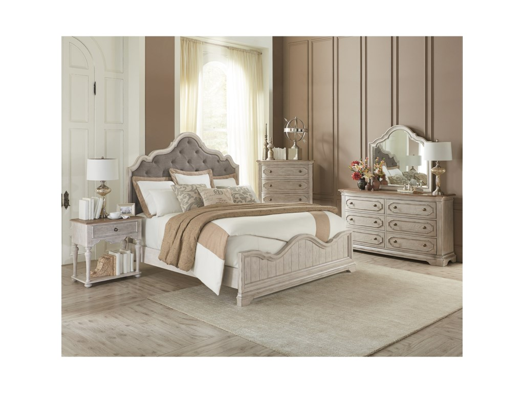 Riverside Furniture ElizabethCalifornia King Bedroom Group