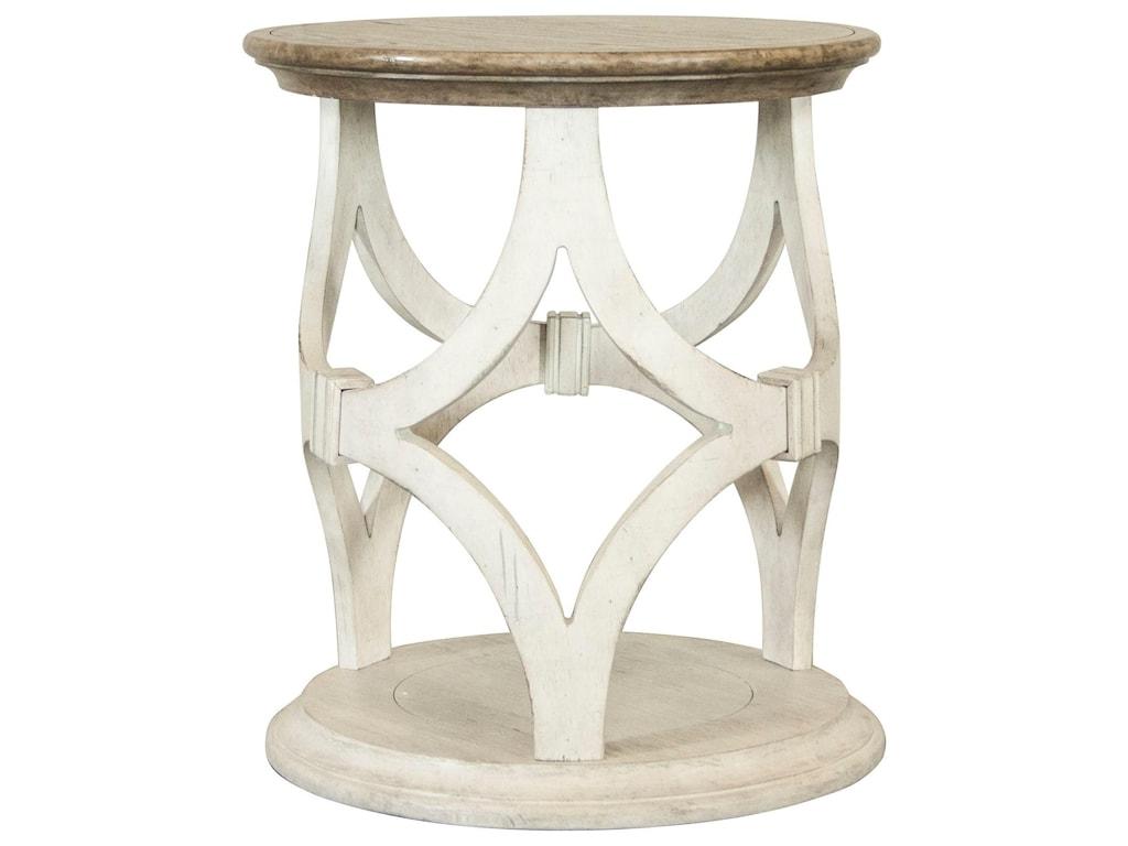 Riverside Furniture ElizabethRound End Table