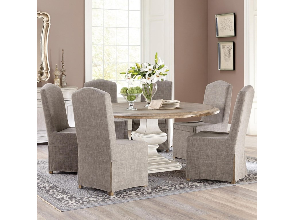 Riverside Furniture Elizabeth7 Piece Table and Chair Set